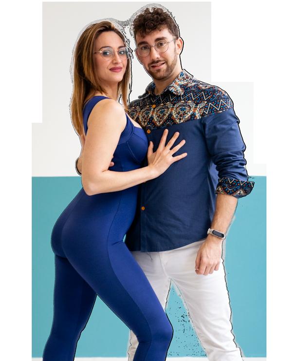 Javi Montero y Mariluz