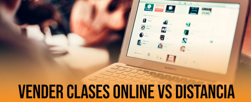 Vender clases online distancia