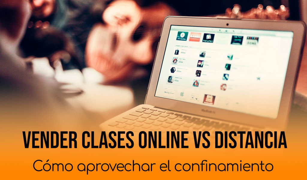Vender clases online distancia